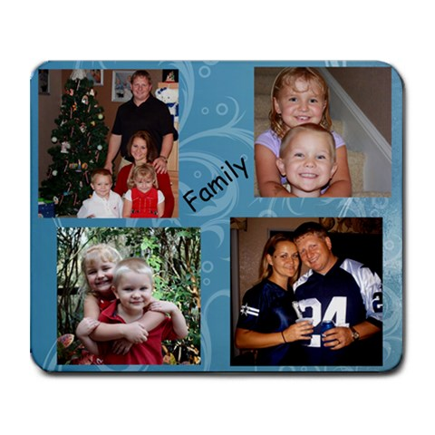 Free Family Mouse Pad    How Cute Are These! By Laura Collins Mendicino   Collage Mousepad   661uc33jsioo   Www Artscow Com 9.25 x7.75 Mousepad - 1