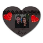 Nancy and Sean - Heart Mousepad