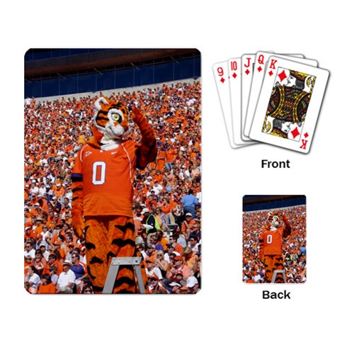 Tiger Playing Cards By Laicie Langston   Playing Cards Single Design   29o78andj6e4   Www Artscow Com Back