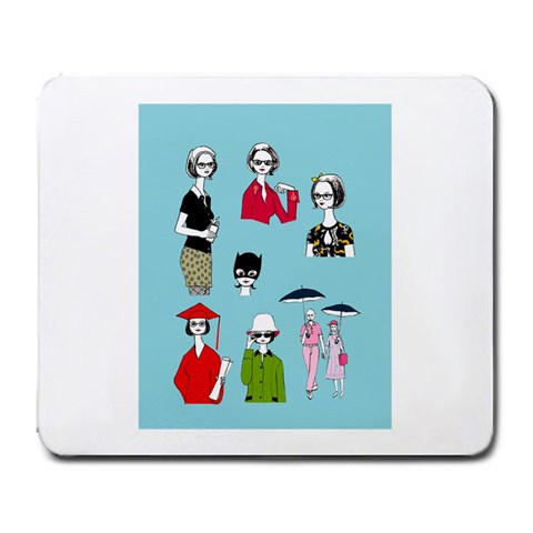 Ghost Pad By Corissa Barro   Large Mousepad   Kr5k6fex49oa   Www Artscow Com Front
