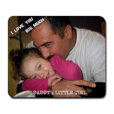 Daddy Mousepad By Michelle Ochoa   Collage Mousepad   Jzxqmxm14kkm   Www Artscow Com 9.25 x7.75 Mousepad - 1