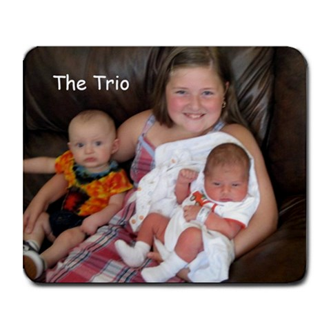 The Trio By Lacey Fliger   Collage Mousepad   Byah3nc5yai9   Www Artscow Com 9.25 x7.75 Mousepad - 1