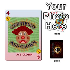 Dwp Cards New By Brent   Playing Cards 54 Designs   4jtboq0jxa27   Www Artscow Com Front - Heart4