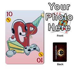 Dwp Cards New By Brent   Playing Cards 54 Designs   4jtboq0jxa27   Www Artscow Com Front - Heart10