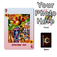 Dwp Cards New By Brent   Playing Cards 54 Designs   4jtboq0jxa27   Www Artscow Com Front - Diamond9