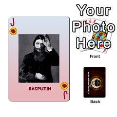 Jack Dwp Cards New By Brent   Playing Cards 54 Designs   4jtboq0jxa27   Www Artscow Com Front - DiamondJ