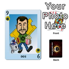 Dwp Cards New By Brent   Playing Cards 54 Designs   4jtboq0jxa27   Www Artscow Com Front - Club9