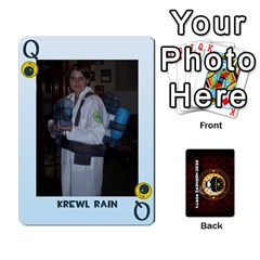 Queen Dwp Cards New By Brent   Playing Cards 54 Designs   4jtboq0jxa27   Www Artscow Com Front - ClubQ