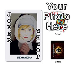 Dwp Cards New By Brent   Playing Cards 54 Designs   4jtboq0jxa27   Www Artscow Com Front - Joker1