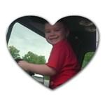 my son - Heart Mousepad