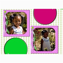 Denise And Abree By Tambra   5  X 7  Photo Cards   K7rzk8mufry4   Www Artscow Com 7 x5 Photo Card - 3