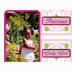 Denise And Abree By Tambra   5  X 7  Photo Cards   K7rzk8mufry4   Www Artscow Com 7 x5 Photo Card - 4