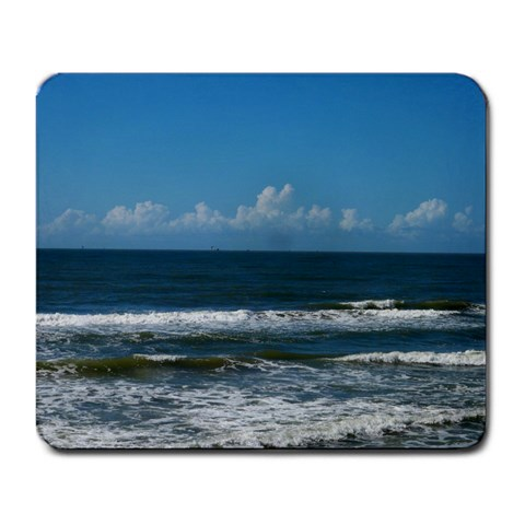 Surfside Beach, Texas Usa By Christina Dixon   Large Mousepad   121to3j7srvd   Www Artscow Com Front