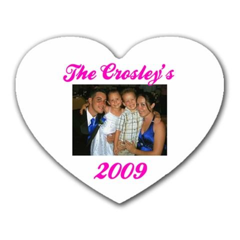 Crosley By Desiree   Heart Mousepad   Cgoen3tlu4pn   Www Artscow Com Front