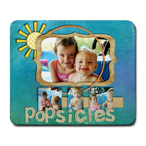 Popsicle Mousepad By Tracy   Large Mousepad   6ludi3svuig5   Www Artscow Com Front