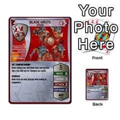 Heroscape Deck 01 By Joel Dela Cruz   Multi Purpose Cards (rectangle)   19l7klcne93q   Www Artscow Com Front 41