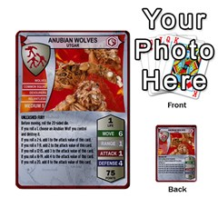 Heroscape Deck 01 By Joel Dela Cruz   Multi Purpose Cards (rectangle)   19l7klcne93q   Www Artscow Com Front 44