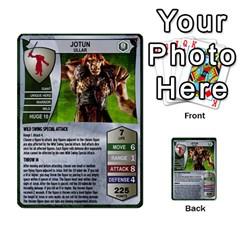 Heroscape 02 By Joel Dela Cruz   Multi Purpose Cards (rectangle)   65cpb84c0k33   Www Artscow Com Front 17