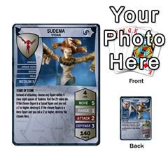 Heroscape 02 By Joel Dela Cruz   Multi Purpose Cards (rectangle)   65cpb84c0k33   Www Artscow Com Front 22