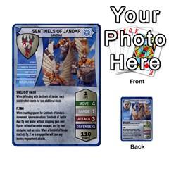 Heroscape 02 By Joel Dela Cruz   Multi Purpose Cards (rectangle)   65cpb84c0k33   Www Artscow Com Front 4