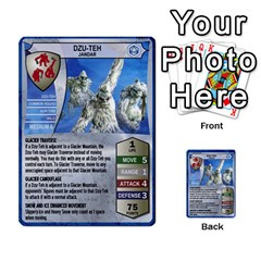 Heroscape 03 By Joel Dela Cruz   Multi Purpose Cards (rectangle)   Zw0w0h7yuqs6   Www Artscow Com Front 52