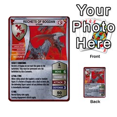 Heroscape 03 By Joel Dela Cruz   Multi Purpose Cards (rectangle)   Zw0w0h7yuqs6   Www Artscow Com Front 10
