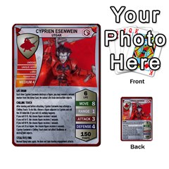 Heroscape 03 By Joel Dela Cruz   Multi Purpose Cards (rectangle)   Zw0w0h7yuqs6   Www Artscow Com Front 13