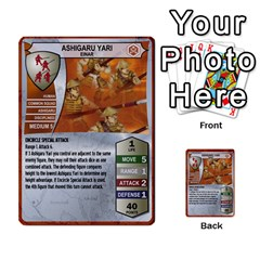 Heroscape 03 By Joel Dela Cruz   Multi Purpose Cards (rectangle)   Zw0w0h7yuqs6   Www Artscow Com Front 15