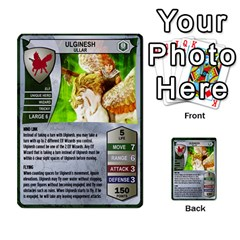 Heroscape 03 By Joel Dela Cruz   Multi Purpose Cards (rectangle)   Zw0w0h7yuqs6   Www Artscow Com Front 25