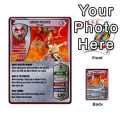 Heroscape 03 By Joel Dela Cruz   Multi Purpose Cards (rectangle)   Zw0w0h7yuqs6   Www Artscow Com Front 30