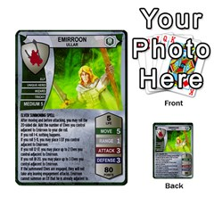 Heroscape 03 By Joel Dela Cruz   Multi Purpose Cards (rectangle)   Zw0w0h7yuqs6   Www Artscow Com Front 31