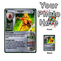 Heroscape 03 By Joel Dela Cruz   Multi Purpose Cards (rectangle)   Zw0w0h7yuqs6   Www Artscow Com Front 34