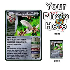 Heroscape 03 By Joel Dela Cruz   Multi Purpose Cards (rectangle)   Zw0w0h7yuqs6   Www Artscow Com Front 36