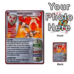 Heroscape 03 By Joel Dela Cruz   Multi Purpose Cards (rectangle)   Zw0w0h7yuqs6   Www Artscow Com Front 44