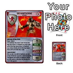 Heroscape 04 By Joel Dela Cruz   Multi Purpose Cards (rectangle)   A83rweuf5y2v   Www Artscow Com Front 1
