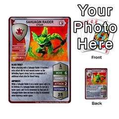 Heroscape 04 By Joel Dela Cruz   Multi Purpose Cards (rectangle)   A83rweuf5y2v   Www Artscow Com Front 15
