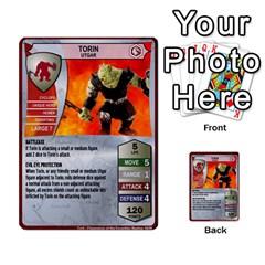 Heroscape 04 By Joel Dela Cruz   Multi Purpose Cards (rectangle)   A83rweuf5y2v   Www Artscow Com Front 17
