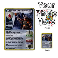 Heroscape 04 By Joel Dela Cruz   Multi Purpose Cards (rectangle)   A83rweuf5y2v   Www Artscow Com Front 20