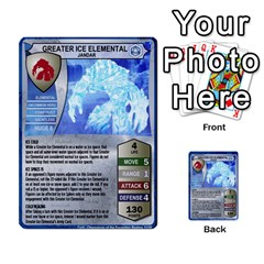 Heroscape 04 By Joel Dela Cruz   Multi Purpose Cards (rectangle)   A83rweuf5y2v   Www Artscow Com Front 21