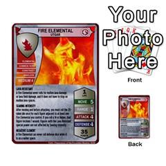 Heroscape 04 By Joel Dela Cruz   Multi Purpose Cards (rectangle)   A83rweuf5y2v   Www Artscow Com Front 22