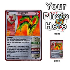 Heroscape 04 By Joel Dela Cruz   Multi Purpose Cards (rectangle)   A83rweuf5y2v   Www Artscow Com Front 23