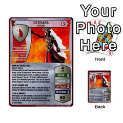 Heroscape 04 By Joel Dela Cruz   Multi Purpose Cards (rectangle)   A83rweuf5y2v   Www Artscow Com Front 24