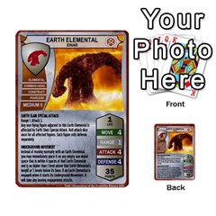 Heroscape 04 By Joel Dela Cruz   Multi Purpose Cards (rectangle)   A83rweuf5y2v   Www Artscow Com Front 26