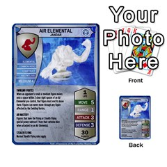 Heroscape 04 By Joel Dela Cruz   Multi Purpose Cards (rectangle)   A83rweuf5y2v   Www Artscow Com Front 27