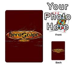 Heroscape 04 By Joel Dela Cruz   Multi Purpose Cards (rectangle)   A83rweuf5y2v   Www Artscow Com Back 29