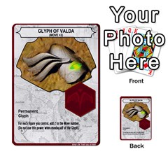 Heroscape 04 By Joel Dela Cruz   Multi Purpose Cards (rectangle)   A83rweuf5y2v   Www Artscow Com Front 50