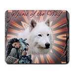 Spirit of the Wolf Mousepad - Collage Mousepad