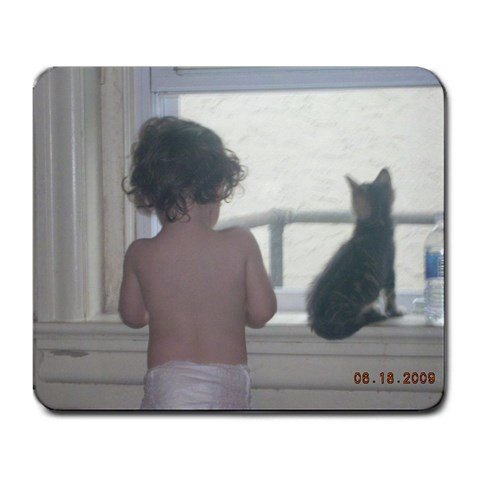 I Made This! By Becky Miller   Large Mousepad   Zxbv6bgxlh9p   Www Artscow Com Front