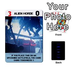 Aliens: This Time It s War Pt3 By Chris Hillery   Playing Cards 54 Designs   Vzf6sxspyfma   Www Artscow Com Front - Spade3