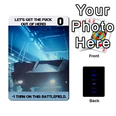 Aliens: This Time It s War Pt3 By Chris Hillery   Playing Cards 54 Designs   Vzf6sxspyfma   Www Artscow Com Front - Diamond2